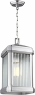 Seagull 6247431-753 Gaelan Contemporary Painted Brushed Nickel Outdoor Drop Lighting Fixture
