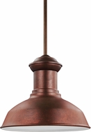 Seagull 6247701BLE-44 Fredricksburg Weathered Copper Fluorescent Exterior Drop Ceiling Lighting