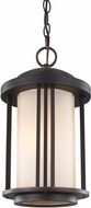 Seagull 6247901BLE-71 Crowell Antique Bronze Fluorescent Exterior Pendant Light