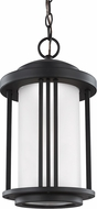 Seagull 6247991S-12 Crowell Black LED Outdoor Lighting Pendant