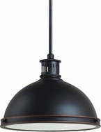 Seagull 65086EN-715 Pratt Street Metal Contemporary Autumn Bronze LED Drop Ceiling Lighting