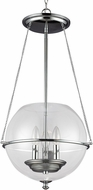 Seagull 6511903EN-05 Havenwood Contemporary Chrome LED 14.5  Foyer Lighting