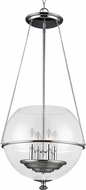 Seagull 6511904EN-05 Havenwood Contemporary Chrome LED 17.5  Foyer Lighting Fixture
