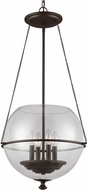 Seagull 6511904EN-715 Havenwood Modern Autumn Bronze LED 17.5  Entryway Light Fixture