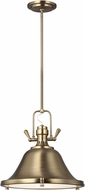 Seagull 6514401-848 Stone Street Contemporary Satin Bronze Hanging Light Fixture