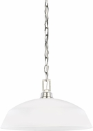 Seagull 6515201EN-962 Kerrville Brushed Nickel LED Hanging Pendant Light