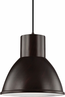 Seagull 6517491S-710 Division Street Burnt Sienna LED Pendant Lighting Fixture