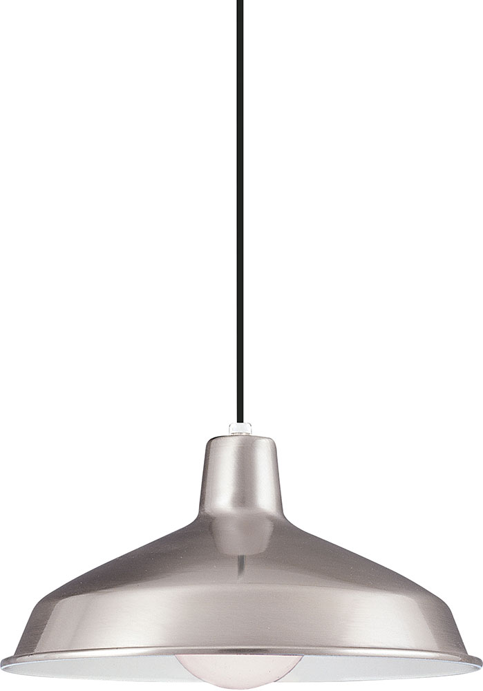 drop lighting. Seagull 651991S-98 Painted Shade Pendants Contemporary Brushed Stainless LED Drop Lighting Fixture. Loading Zoom S
