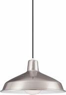 Seagull 6519EN-98 Painted Shade Modern Brushed Stainless LED Pendant Lighting