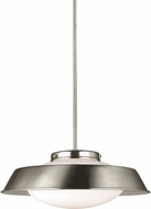 Seagull 6525701EN-962 Gooding Brushed Nickel LED Hanging Lamp