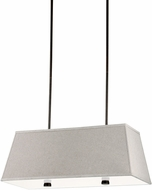 Seagull 65266EN-710 Dayna Shade Burnt Sienna LED Kitchen Island Light
