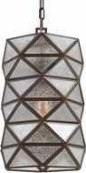 Seagull 6541401-782 Harambee Contemporary Heirloom Bronze Mini Ceiling Pendant Light