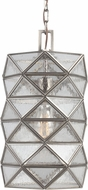Seagull 6541401BLE-965 Harambee Modern Antique Brushed Nickel Fluorescent Small Pendant Lighting