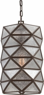 Seagull 6541401EN-782 Harambee Contemporary Heirloom Bronze LED Mini Hanging Pendant Light