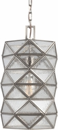Seagull 6541401EN-965 Harambee Modern Antique Brushed Nickel LED Mini Pendant Hanging Light