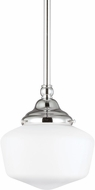 Seagull 65436EN-05 Academy Chrome LED Mini Hanging Light Fixture