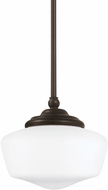 Seagull 65436EN-782 Academy Heirloom Bronze LED Mini Drop Lighting
