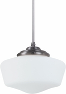 Seagull 65437BLE-962 Academy Brushed Nickel Fluorescent Large Ceiling Pendant Light