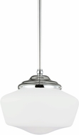 Seagull 65437EN-05 Academy Chrome LED Mini Ceiling Light Pendant