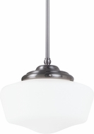 Seagull 65438-962 Academy Brushed Nickel Large Pendant Lamp