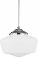 Seagull 6543891S-05 Academy Chrome LED Large Pendant Lighting