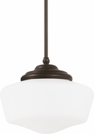 Seagull 65438BLE-782 Academy Heirloom Bronze Fluorescent Extra Large Hanging Light