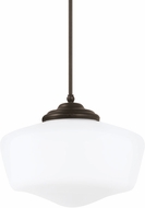 Seagull 65439-782 Academy Heirloom Bronze Extra Large Hanging Pendant Lighting