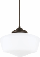 Seagull 6543991S-782 Academy Heirloom Bronze LED Extra Large Pendant Hanging Light