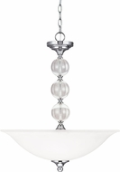Seagull 6613403EN-05 Englehorn Chrome LED Hanging Light