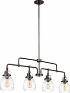 Seagull 6614504-782 Belton Heirloom Bronze Kitchen Island Light