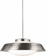 Seagull 6625702EN-962 Gooding Brushed Nickel LED Drop Ceiling Lighting