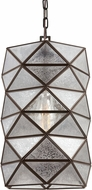 Seagull 6641401BLE-782 Harambee Contemporary Heirloom Bronze Fluorescent Ceiling Light Pendant