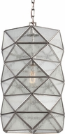 Seagull 6641401BLE-965 Harambee Modern Antique Brushed Nickel Fluorescent Ceiling Pendant Light