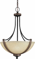Seagull 6680403EN-846 Corbeille Stardust LED Hanging Light