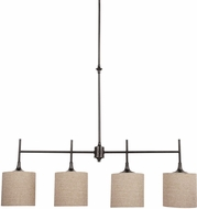 Seagull 66952EN-710 Stirling Burnt Sienna LED Kitchen Island Lighting