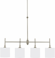 Seagull 66952EN-962 Stirling Brushed Nickel LED Kitchen Island Light