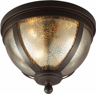 Seagull 7510403BLE-715 Sfera Contemporary Autumn Bronze Fluorescent Ceiling Light Fixture