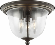 Seagull 7514503EN-782 Belton Modern Heirloom Bronze LED Ceiling Light Fixture