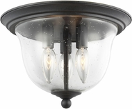 Seagull 7527803EN-839 Morill Contemporary Blacksmith LED Flush Lighting