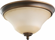 Seagull 75381EN-829 Parkview Russet Bronze LED Overhead Light Fixture