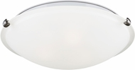 Seagull 7543502EN-962 Brushed Nickel LED Ceiling Light Fixture