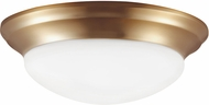 Seagull 75436-848 Nash Satin Bronze LED Flush Mount Lighting