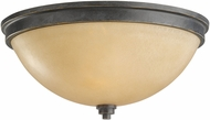 Seagull 75520EN-845 Roslyn Flemish Bronze LED Flush Mount Light Fixture