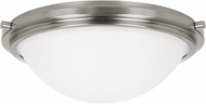 Seagull 75661EN-962 Winnetka Brushed Nickel LED Flush Mount Ceiling Light Fixture