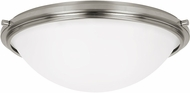 Seagull 75662EN-962 Winnetka Brushed Nickel LED Overhead Light Fixture