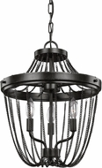Seagull 7710103-846 Kelvyn Park Modern Stardust Entryway Light Fixture / Ceiling Light