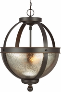 Seagull 7710402-715 Sfera Contemporary Autumn Bronze Pendant Lighting / Ceiling Light Fixture