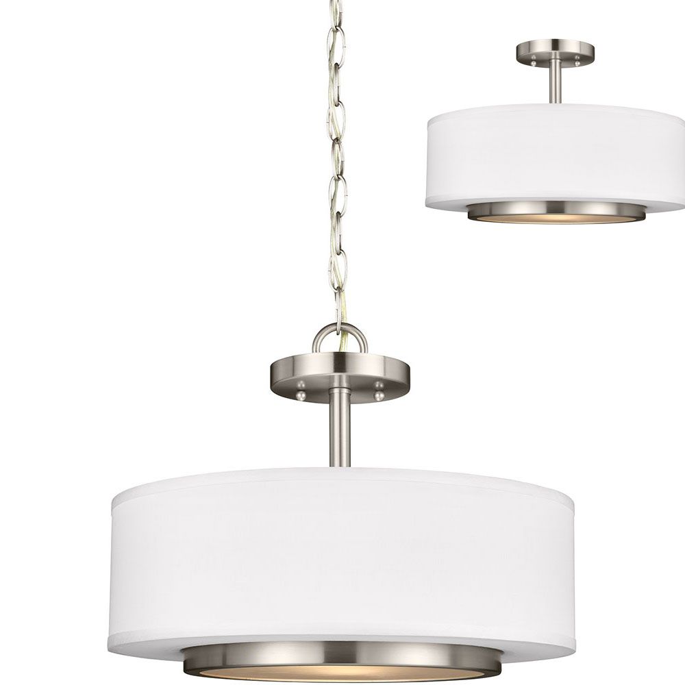 Seagull 7728002EN 962 Nance Contemporary Brushed Nickel