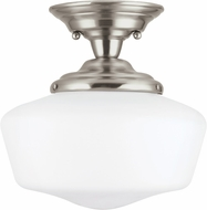 Seagull 77436EN-962 Academy Brushed Nickel LED Ceiling Lighting Fixture