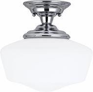Seagull Academy Chrome Overhead Light Fixture
